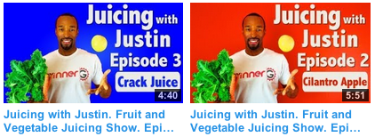 youtube juicing with justin