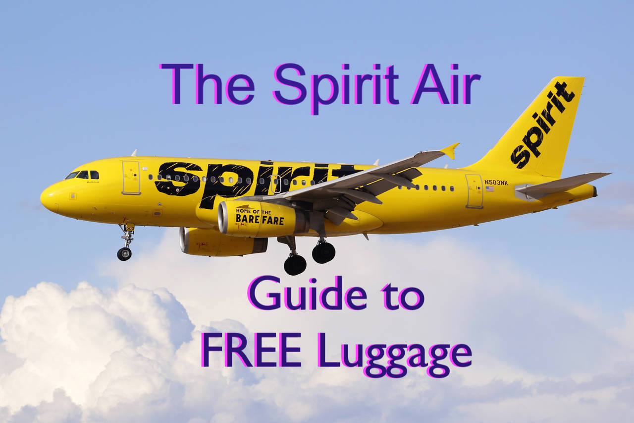 a248f23e8b The SpiritAir Guide to Free Luggage. April 2017 Size Update