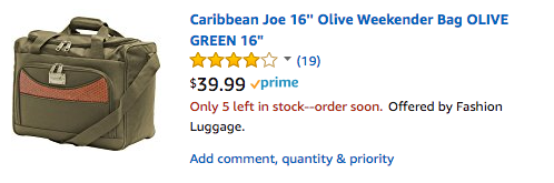 caribbean joe Luggage for SpiritAir